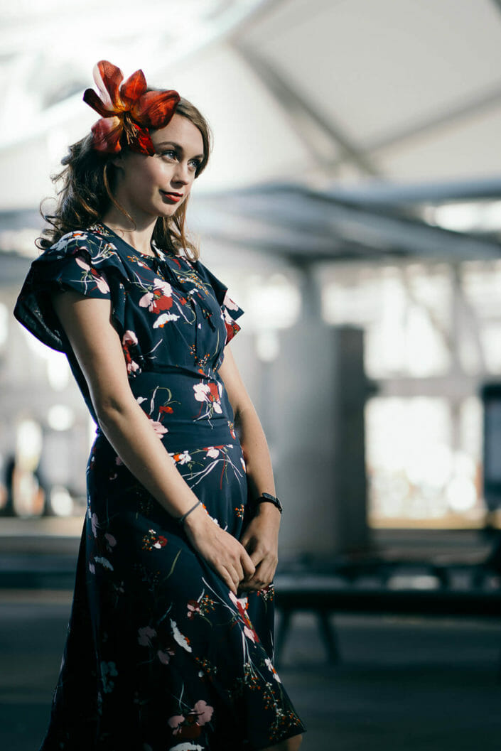 Fashion Photography - Model at Union Station in Denver, Colorado