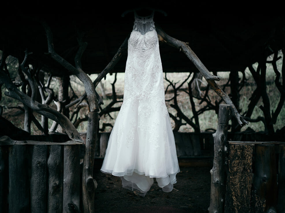 Wedding Dress - Rustic